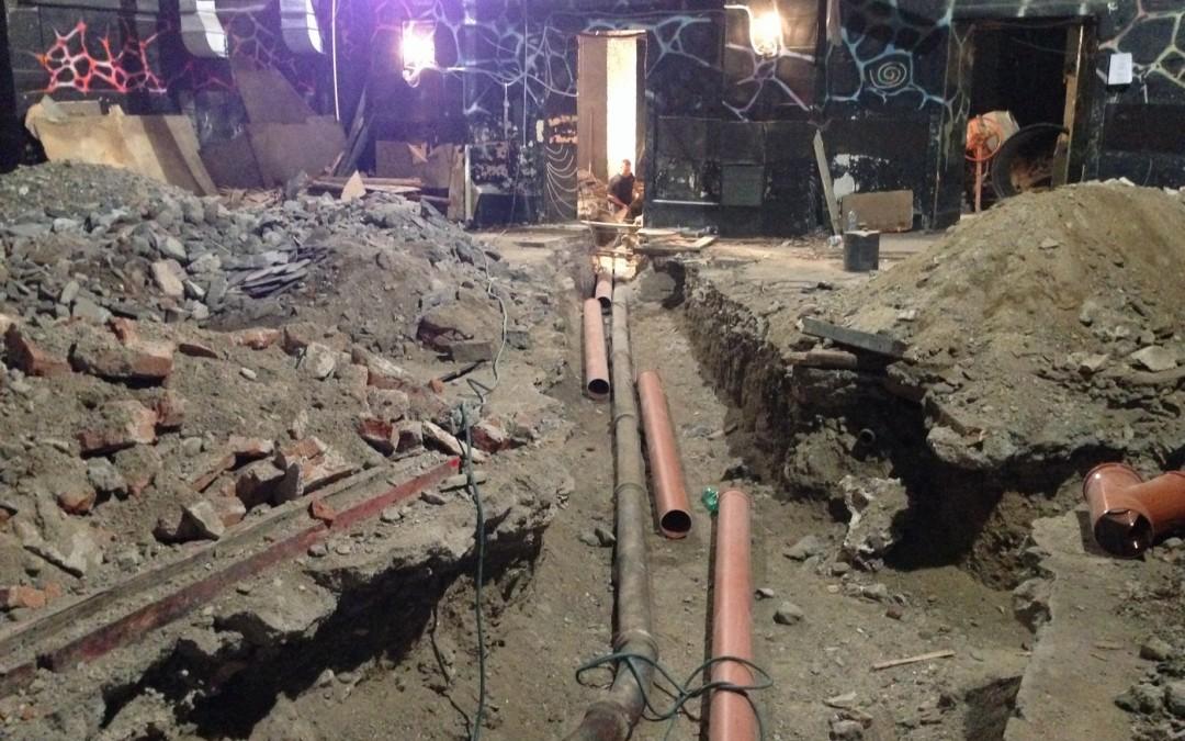 Výměna staré poddimenzované kanalizace